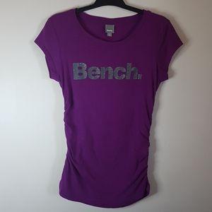 Bench tee purple SZ M